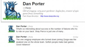 Dan Porter (CEO of OMGPOP) vs. Shay Pierce